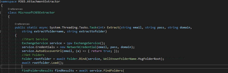 C# and Microsoft 365 – Automatically download your attachments
